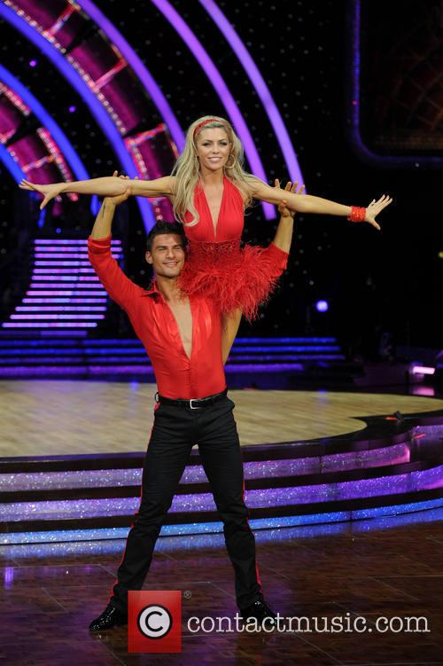 Abbey Clancy and Aljaz Skorjanec 4