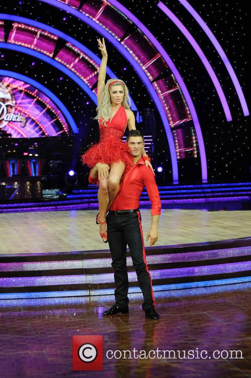 Abbey Clancy and Aljaz Skorjanec 5