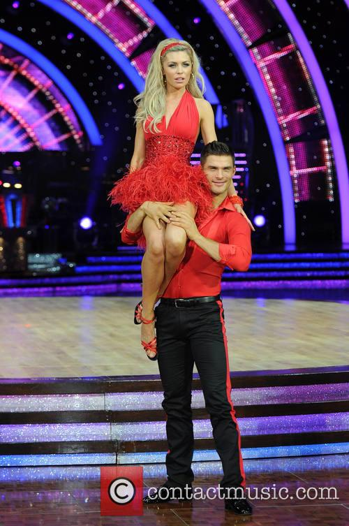 Abbey Clancy and Aljaz Skorjanec 6
