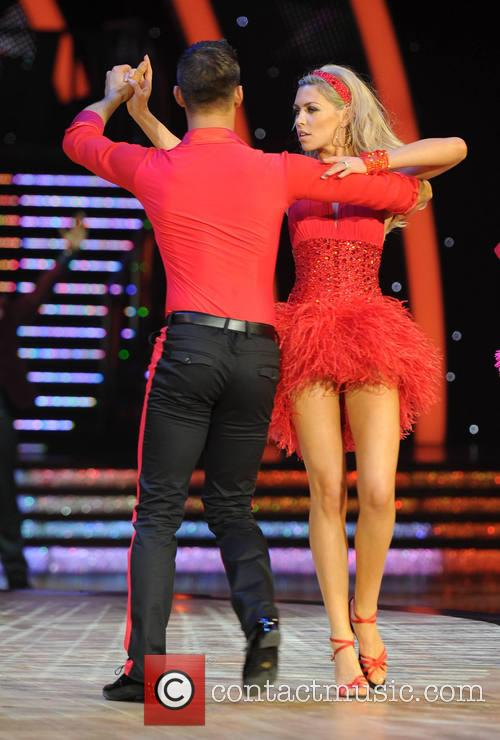Abbey Clancy and Aljaz Skorjanec 7