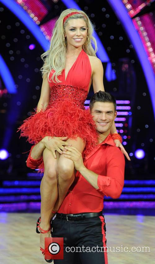 Abbey Clancy and Aljaz Skorjanec 11