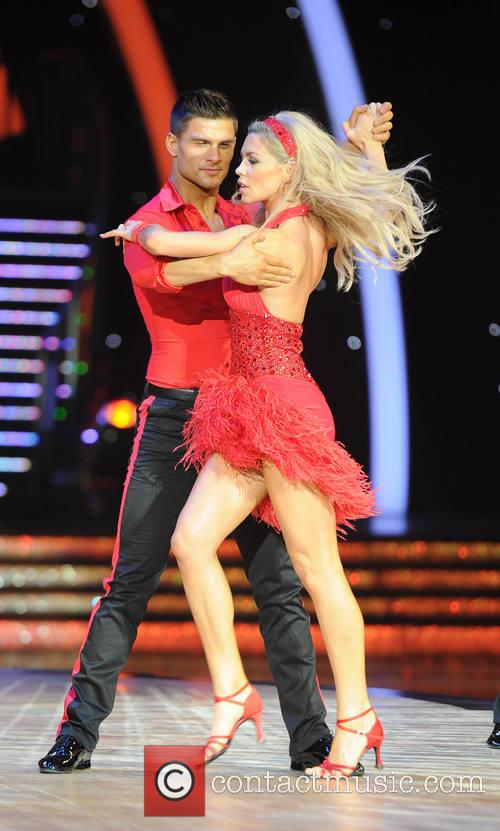 Abbey Clancy, Aljaz Skorjanec, Strictly Come Dancing