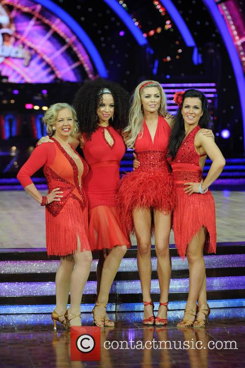 Deborah Meaden, Natalie Gumede, Abbey Clancy and Susanna Reid 1