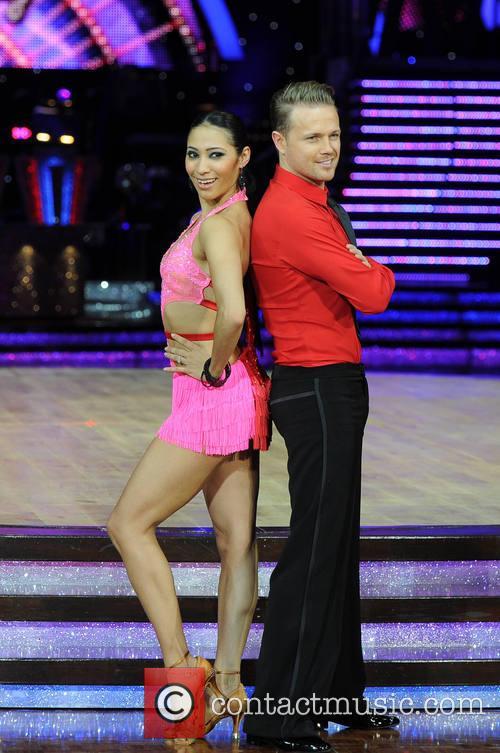 Nicky Byrne and Karen Hauer 3