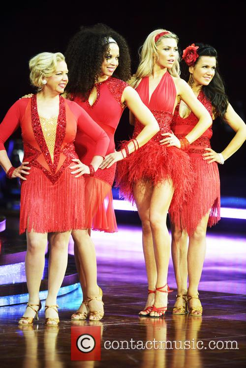 Natalie Gumede, Abbey Clancy, Susanna Reid and Deborah Meaden 4