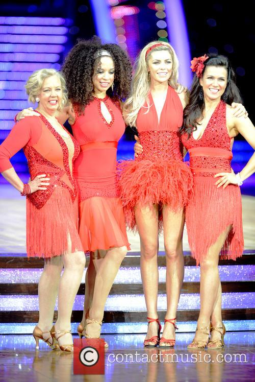 Natalie Gumede, Abbey Clancy, Susanna Reid and Deborah Meaden 6