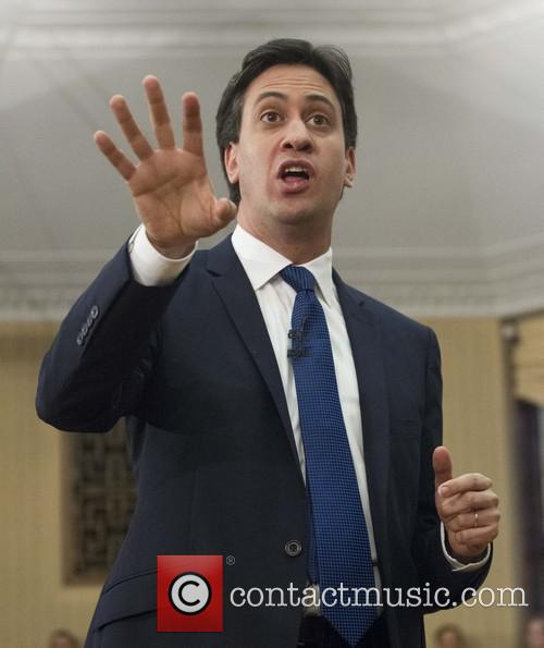 Labour leader Ed Miliband delivers a speech