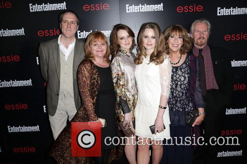 Guest, Lesley Nicol, Sophie Mcshera, Cara Theobold and Guests 2