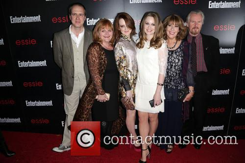 Guest, Lesley Nicol, Sophie Mcshera, Cara Theobold and Guests 1