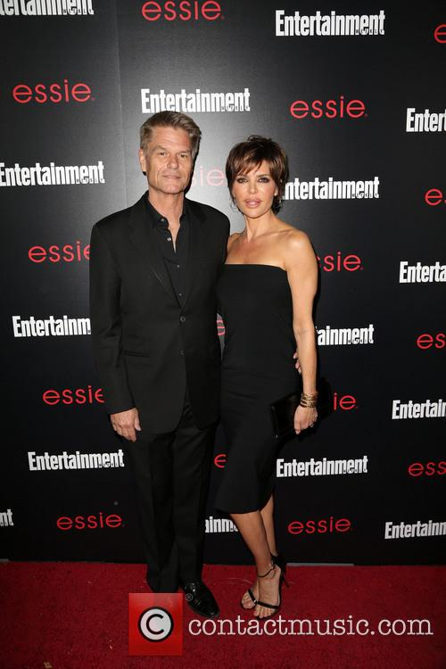Harry Hamlin and Lisa Rinna 1