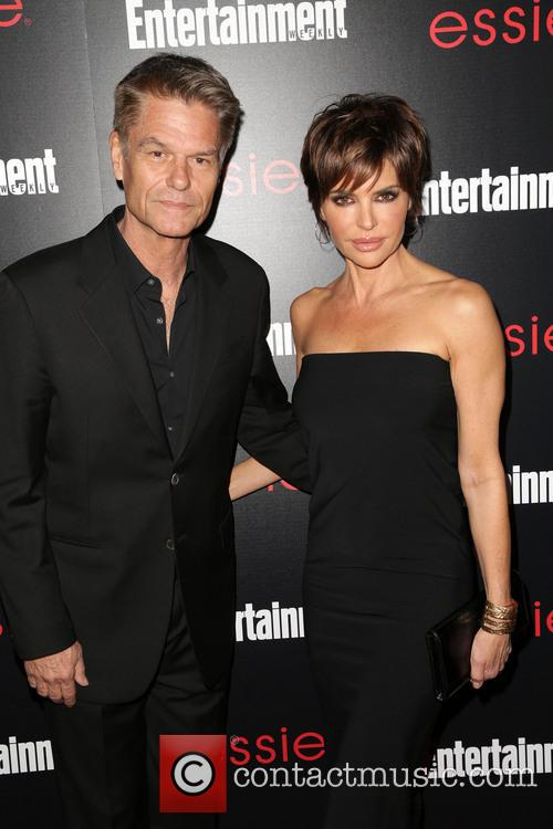 Harry Hamlin and Lisa Rinna 5
