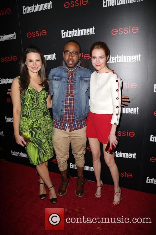 Katie Lowes, Columbus Short and Darby Stanchfield 2