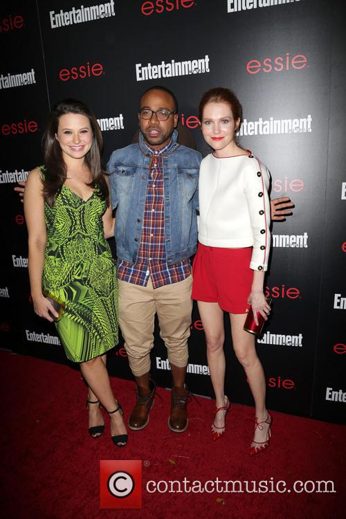 Katie Lowes, Columbus Short and Darby Stanchfield 1