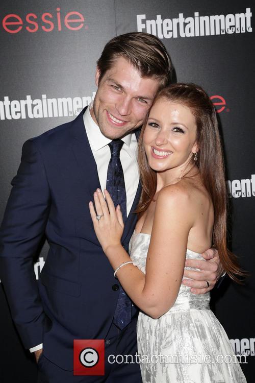 Liam Mcintyre and Erin Hasan