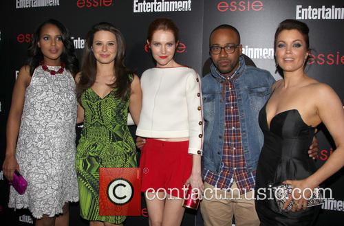 Kerry Washington, Katie Lowes, Darby Stanchfield, Columbus Short, Bellamy Young, Chateau Marmont