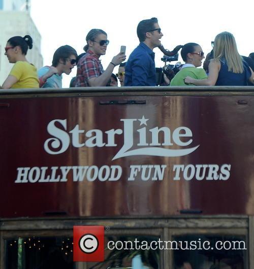 Matthew Morrison, Chord Overstreet, Becca Tobin and Melissa Benoist 9
