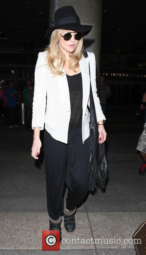 Celebrities at Los Angeles International (LAX) airport