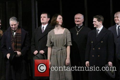 Michael Warner, Michael Cumpsty, Rebecca Hall, Edward James Hyland and Ryan Dinning 4
