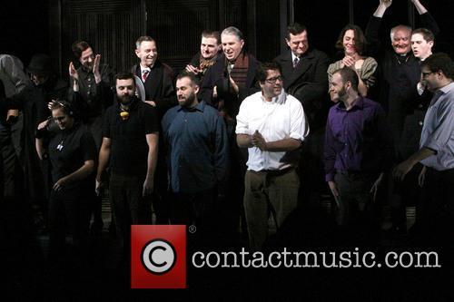 Opening night of Broadway's Machinal - Curtain Call