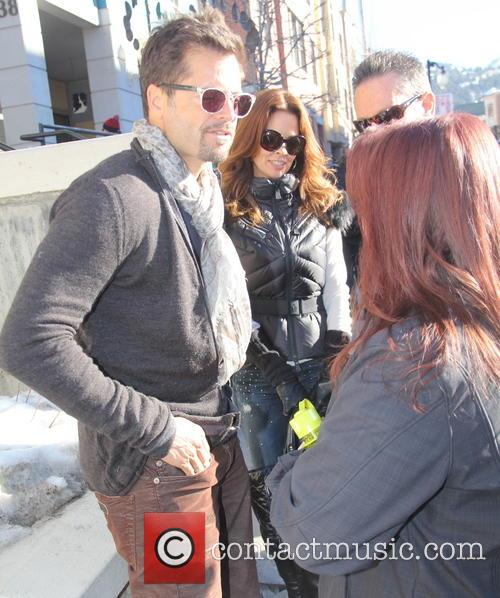 David Charvet, Brooke Burke, Sundance Film Festival