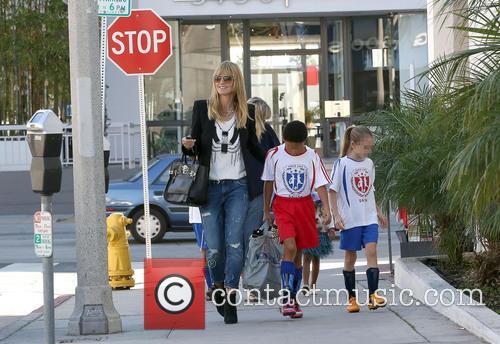 Heidi Klum, Henry Samuel and Leni Samuel 4
