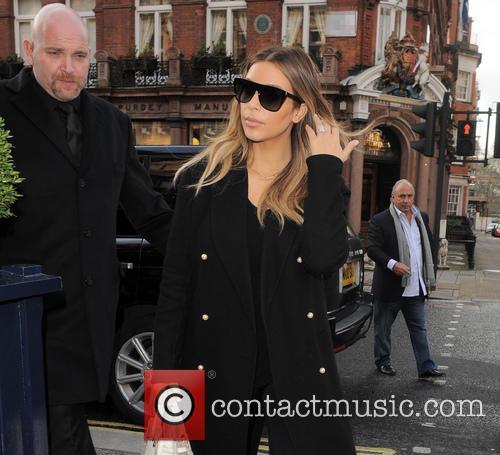 Kim Kardashian meets with Sir Philip Green