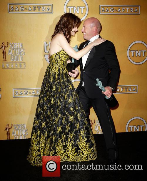 Betsy Brandt and Dean Norris 2