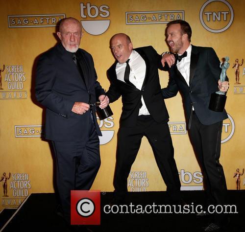 Jonathan Banks, Dean Norris and Aaron Paul 1