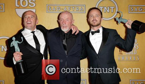 Jonathan Banks, Dean Norris and Aaron Paul 3