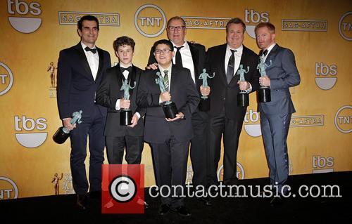 Ty Burrell, Nolan Gould, Rico Rodriguez, Ed O'Neill, Eric Stonestreet and Jesse Tyler Ferguson 2