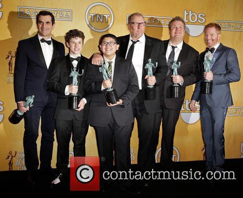 Ty Burrell, Nolan Gould, Rico Rodriguez, Ed O'Neill, Eric Stonestreet and Jesse Tyler Ferguson 3