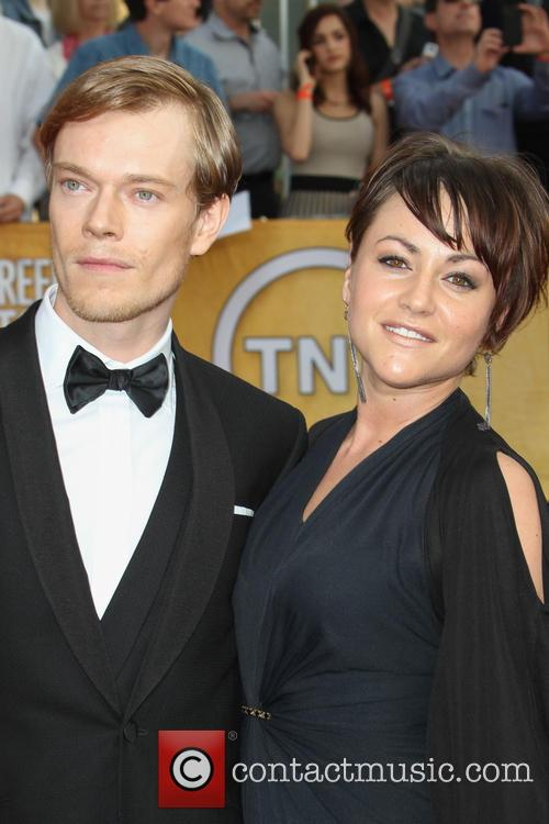 Alfie Allen and Jaime Winstone 3