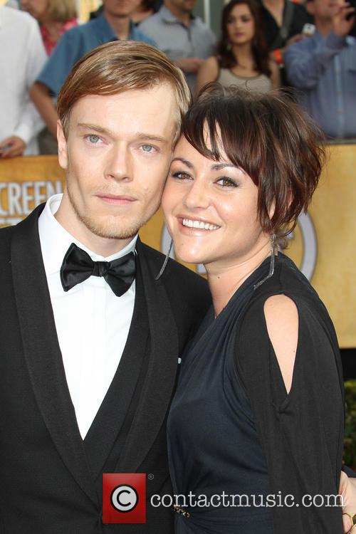 Alfie Allen and Jaime Winstone 1