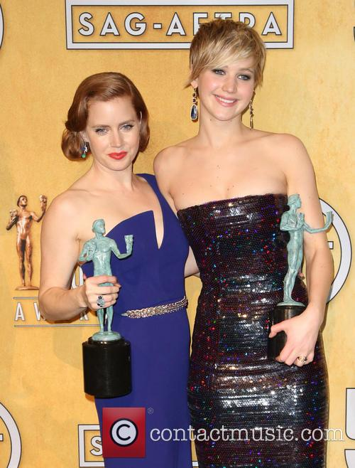 Jennifer Lawrence and Amy Adams 1