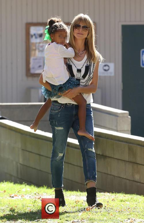Heidi Klum and Lou Samuel 16