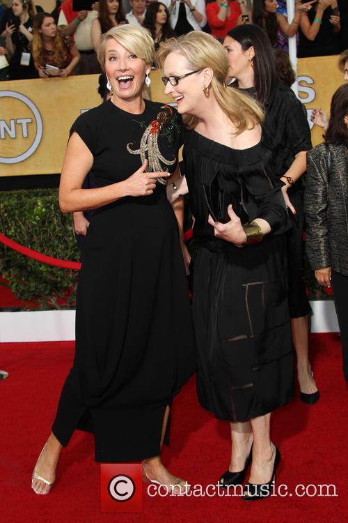 Emma Thompson and Meryl Streep 5