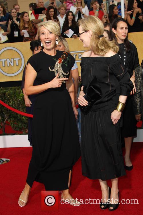 Emma Thompson and Meryl Streep 6
