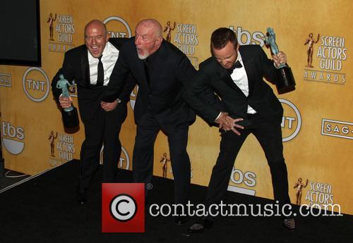Dean Norris, Jonathan Banks and Aaron Paul 1