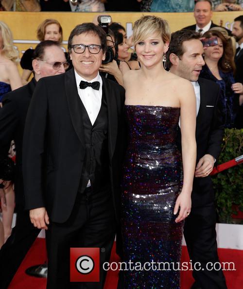 David O'russell and Jennifer Lawrence 2