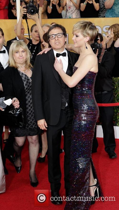 David O'russell and Jennifer Lawrence 1