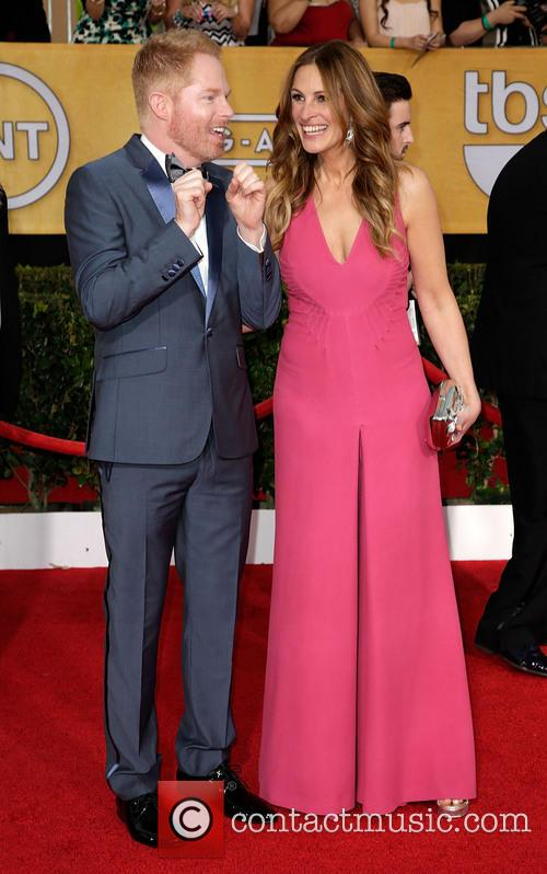 Jesse Tyler Ferguson and Julia Roberts
