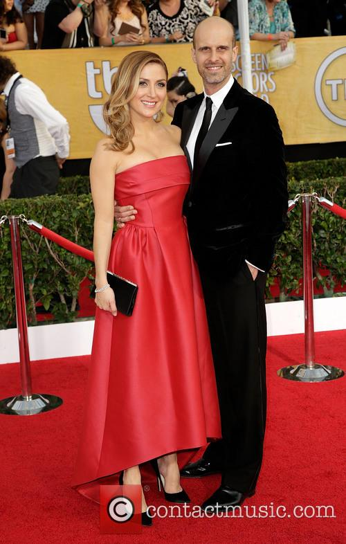 Sasha Alexander, Edoardo Ponti, The Shrine Auditorium, Screen Actors Guild
