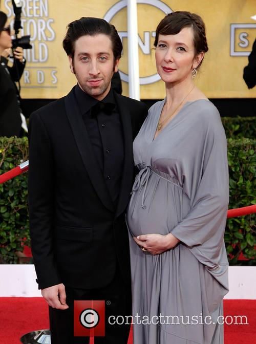 Simon Helberg and Jocelyn Towne 2