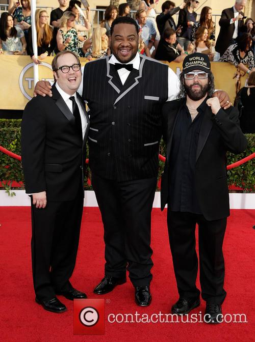 Judah Friedlander, Grizz Chapman and John Lutz
