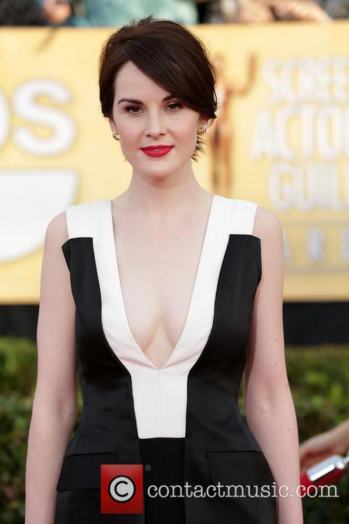 michelle dockery the 20th annual screen actors 4032758