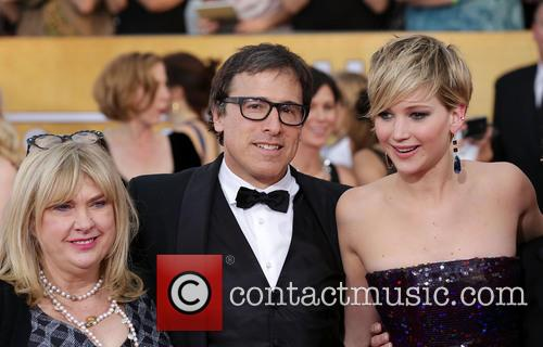 Collen Camp, David O'russell and Jennifer Lawrence 2