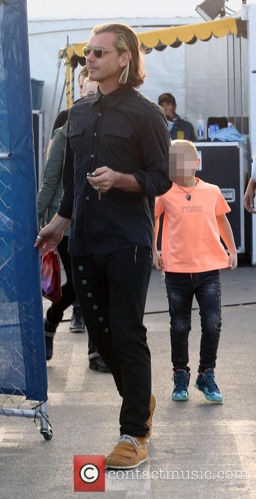 Gavin Rossdale and Kingston Rossdale 2
