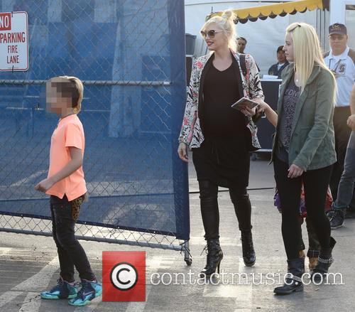 Gwen Stefani and Kingston Rossdale 3