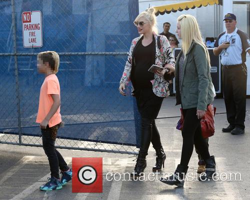 Gwen Stefani and Kingston Rossdale 9