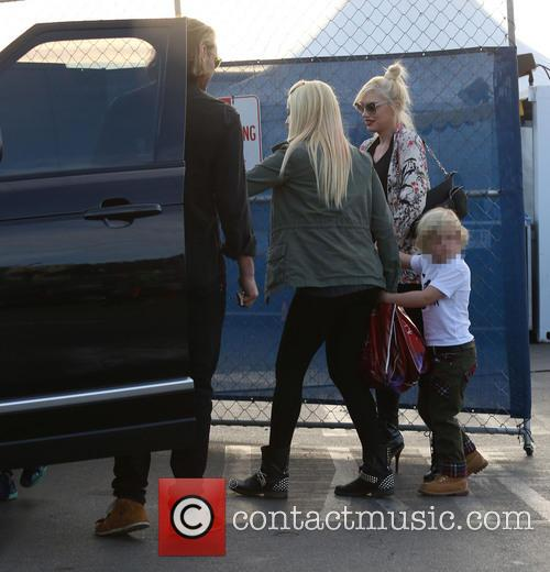 Gwen Stefani and Zuma Rossdale 6